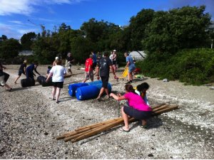 Raft building